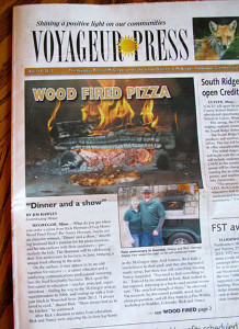 Log Home Wood Fired Pizza, Voyageur Press, 4/14/15